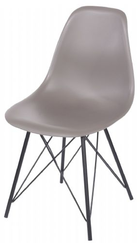 Pair of Aspen Chairs with Metal Legs